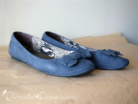 painted leather shoes recreated designs