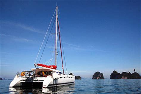 catamaran charter in thailand sailing charter thailand island cruises charter