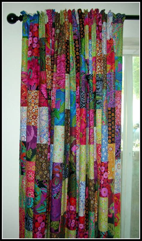 quilted curtain panels best 25 patchwork curtains ideas on pinterest quilted