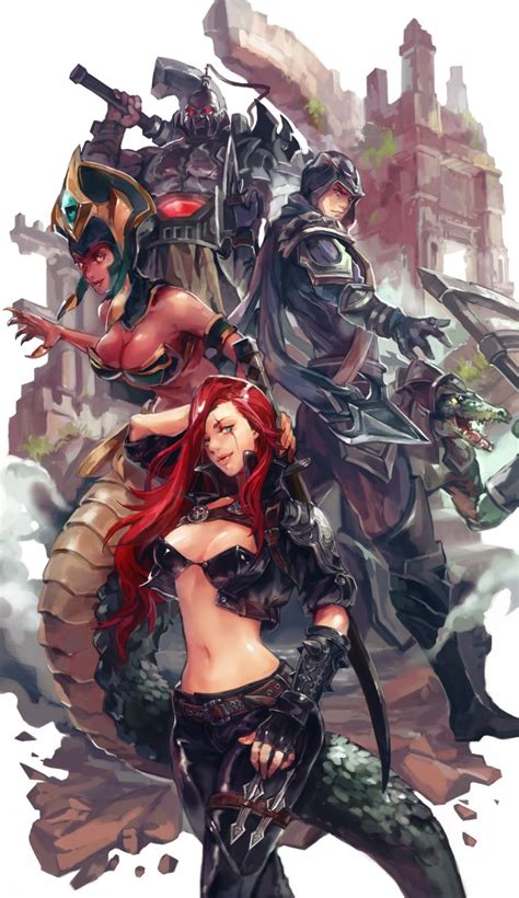 League Of Legend Chions Cassiopeia 2 Casing Hp Hardcase For Oppo katarina cassiopeia talon sion renekton league of