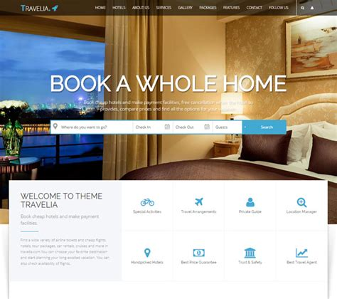 html5 travel templates 20 best html responsive booking templates for travel