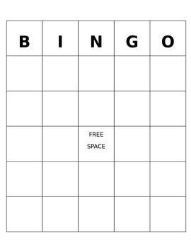 bingo powerpoint template blank bingo editable template working