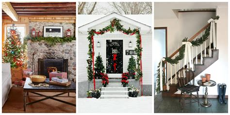 paper garlands home d 233 cor that makes you happier home garland home decor 40 christmas garland ideas decorating