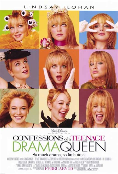 film online drama confessions of a teenage drama queen movie posters from