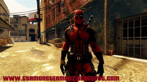 Mod Gta 5 Deadpool | deadpool gta5 mods com