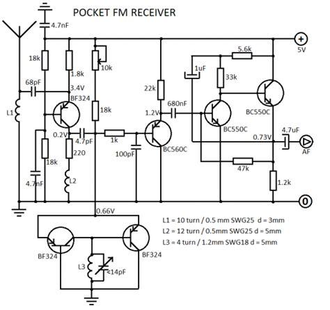 Wifi Receiver Circuit Diagram Circuit And Schematics Diagram Fm Receiver Circuit