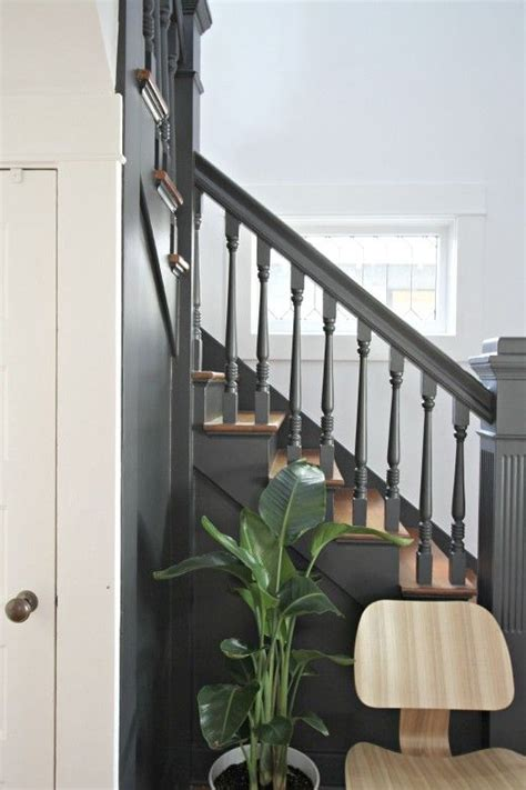 painted banister ideas 25 best ideas about painted banister on pinterest spindles for stairs black