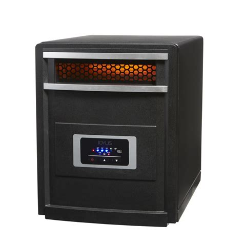 cabinet heater with thermostat shop idylis 5 118 btu infrared cabinet electric space