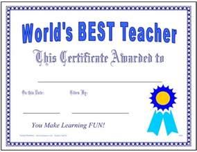 printable card teacher appreciation certificate