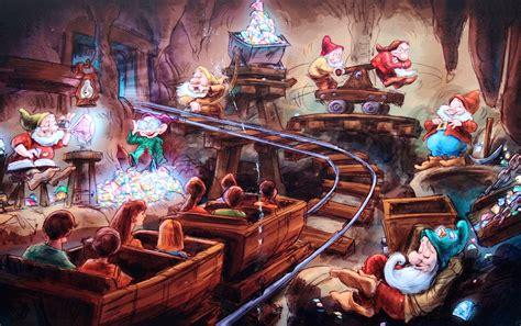 disney new fantasyland seven dwarfs mine concept seven snippets about disney world s seven dwarfs mine