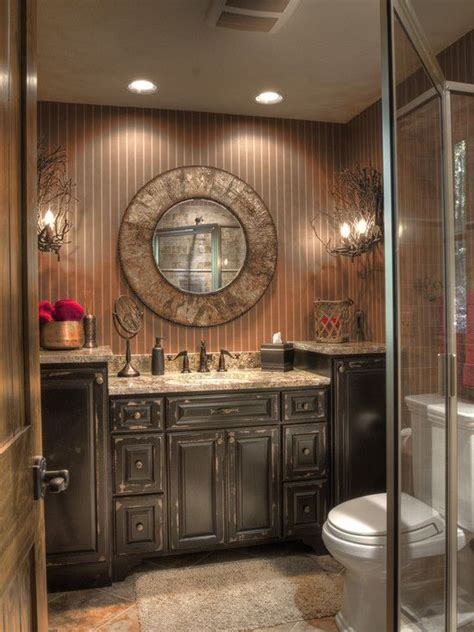 rustic log cabin bathroom traditional bathroom best 20 rustic cabin bathroom ideas on pinterest log