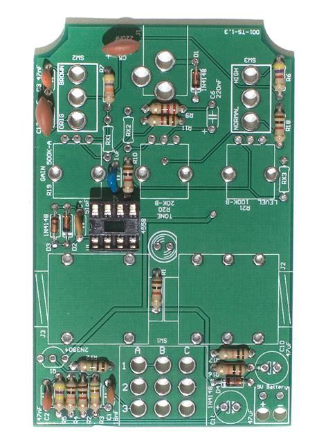 ceramic capacitor on pcb screamer pcb mount assembly synthrotek
