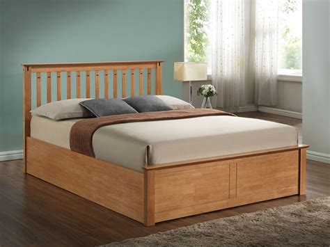 wooden frame ottoman bed lavish kensington wooden ottoman oak lavish beds and