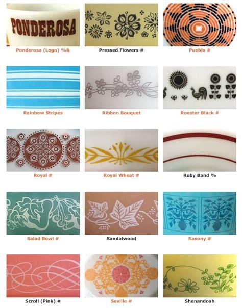 vintage pyrex pattern list 17 best images about vintage pyrex love on pinterest