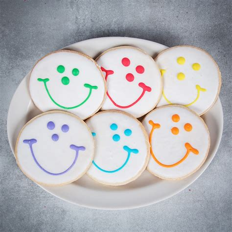 Smile Cookies dozen wrapped original smiley cookies from eat n park
