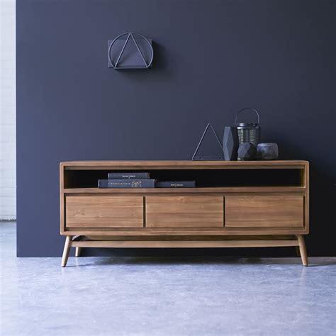 meuble tv en teck vente meubles 130cm scandinave vintage