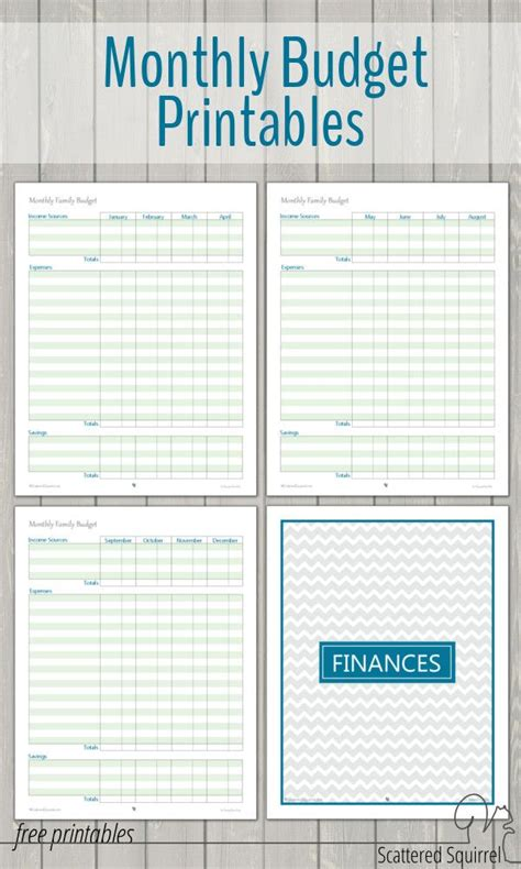 Budget Book Template by Best 25 Printable Budget Sheets Ideas On