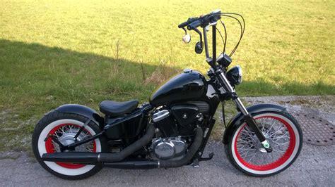 Gebrauchte Motorräder Chopper österreich bobber umbau honda shadow vt600 motorrad fotos motorrad