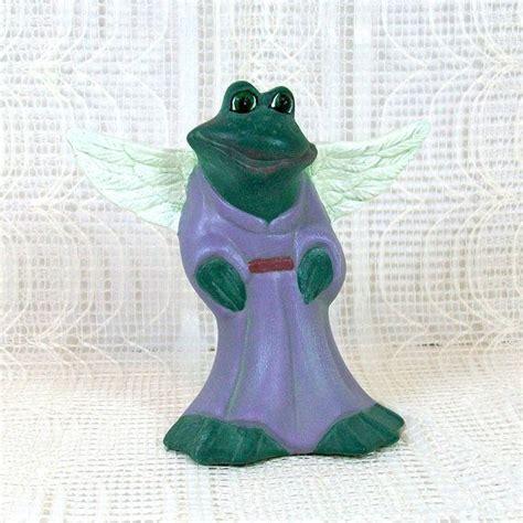 phyllis green ceramics ceramic frog figurine frog statue frog figurine