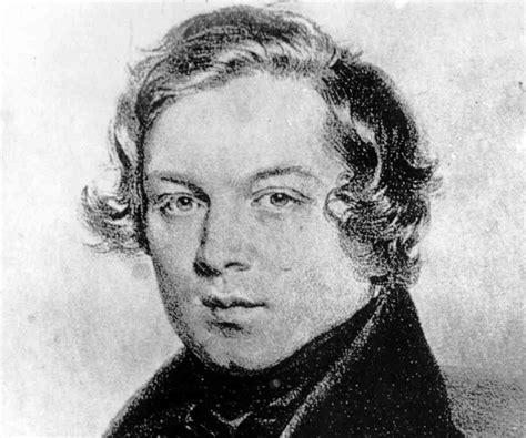 rober schumann robert schumann biography childhood and timeline