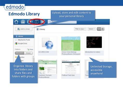 edmodo library edmodo training