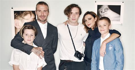 The Beckhams Are by Family Affair David And Beckham Step Out To