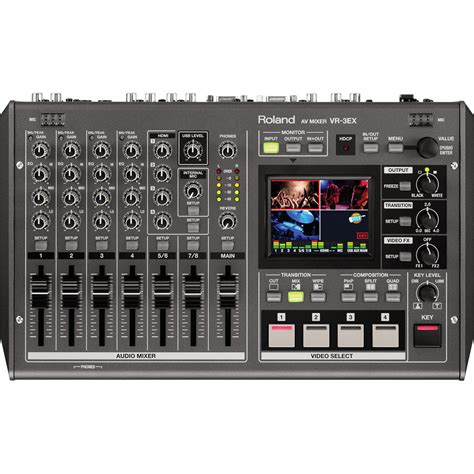 Roland Vr 3 Roland Vr 3ex Sd Hd A V Mixer With Usb Vr 3ex B H