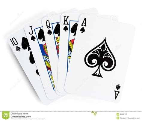 P Drawing An Ace From A Fair Deck Of Cards by Card Images Free Royalty Free Stock Photography