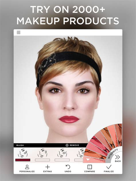 makeover app video virtual makeover screenshot