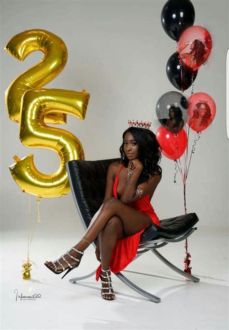 themes of black woman 25th birthday photoshoot mrzchoice strike a pose