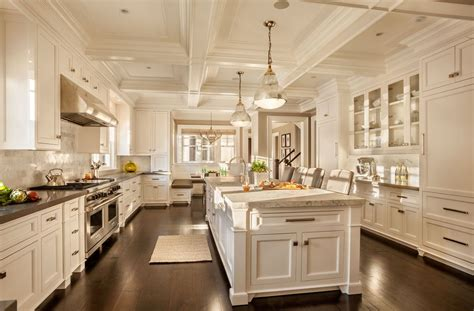 the luxury kitchen with white color cabinets home and 30 custom luxury kitchen designs that cost more than 100 000