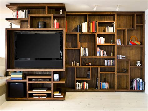 Kids Room Bookshelf Central Park New York Appartement Salon Meuble Tv Casiers