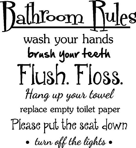Cute Sayings For Bathroom Walls » Home Design 2017