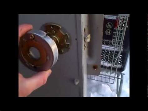 How To Take A Schlage Door Knob Apart by How To Remove A Commercial Lock Replace A Security Lock