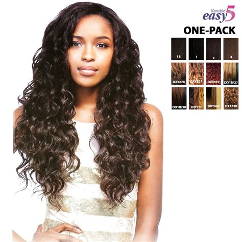 styles for one pack of weave sensationnel brazilian natural curly easy 5 kanubia one