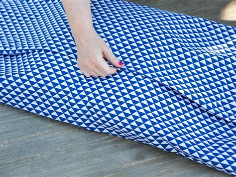 no sew cushion covers how to make a no sew pillow cover hgtv
