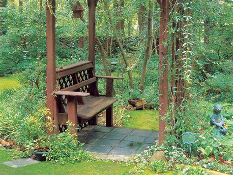 trellis bench lush bougainvillea varieties sunset