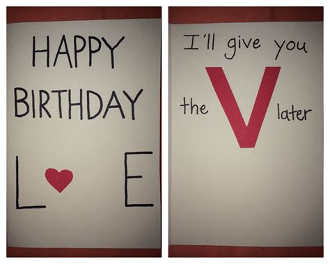 to make for your boyfriend birthday card ideas for your boyfriend alanarasbach