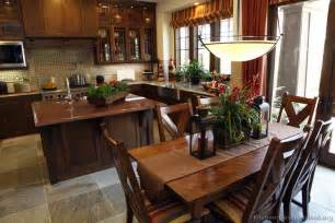 Brown Cabinets Kitchen by Pictures Of Kitchens Traditional Dark Wood Kitchens