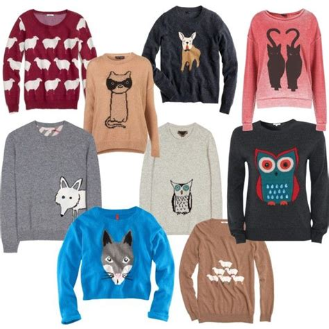 Animal Pullover sweaters