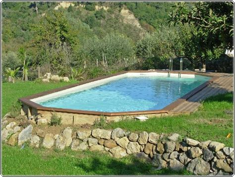 Above Ground Pool Backyard Landscaping Ideas by Triyae Backyard Above Ground Pool Landscaping Ideas