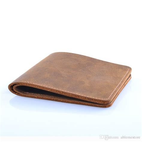 custom new 2018 thin mens slim wallet leather