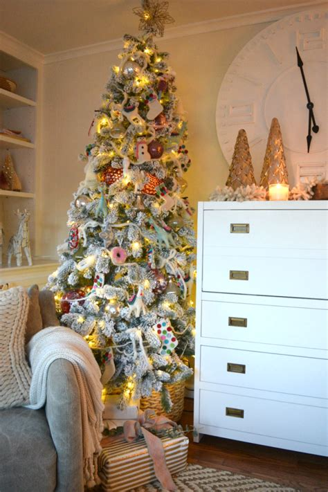 stop and shop xmas trees tree in our small family room nesting with grace