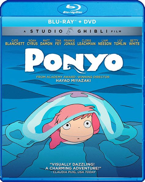 film ghibli blue ray ponyo blu ray dvd
