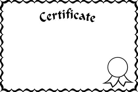 certificate frame clip art  clkercom vector clip art
