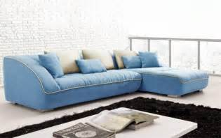Blue Sectional Sofa Keon Blue Sectional Modern Sectional Sofas By