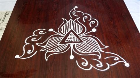 home design for beginners easy rangoli designs for