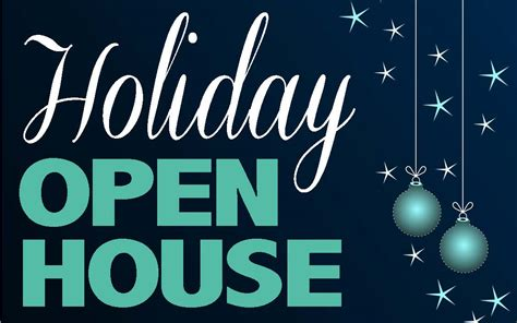 holiday open house visit atchison