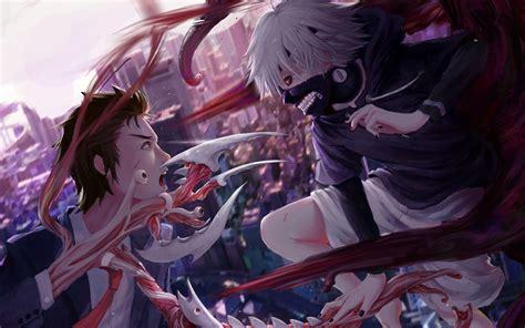 wallpaper anime parasyte parasyte the maxim tokyo ghoul kaneki ken