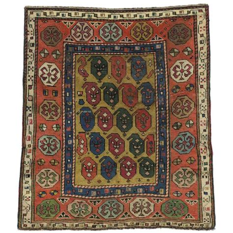 modern square rugs antique russian dagestan square rug with modern style for sale at 1stdibs
